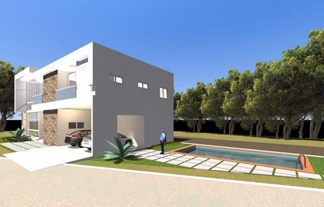 VILLA DUPLEX EN CONSTRUCTION EN VENTE AU VALLON