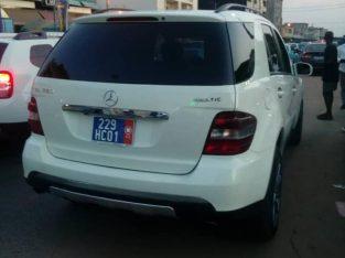 Mercedes ML 350 à vendre