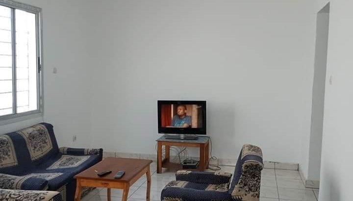 Appartement 4 pièces route de Bassam