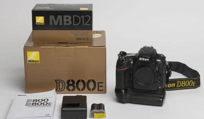 Nikon D800E à vendre