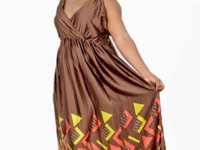Collection robe en soie chic à vendre