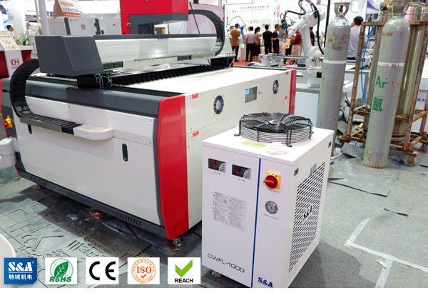 Refroidisseur à recirculation industriel pour équipement de découpe laser à fibre 1KW