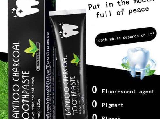 Promo, Dentifrice à base de charbon de bambou